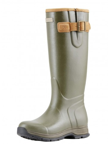 Ariat Women's Burford Insulated Wellington Olive Green