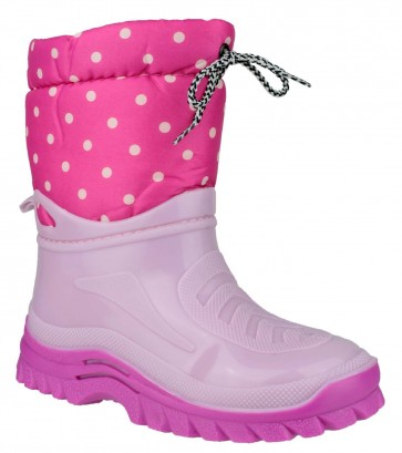 Flurry Kids Warm-lined Boot Pink