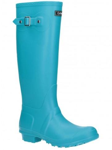 Cotswold Sandringham Wellington Boot Turquoise
