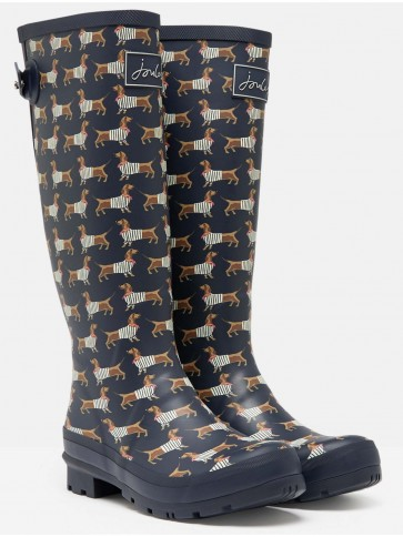 Joules Printed Welly Sausage Dog