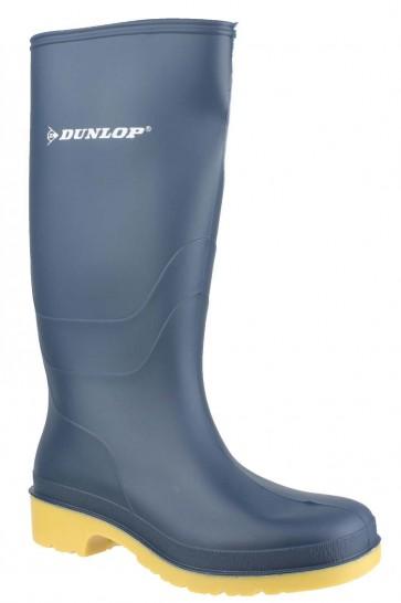 Dunlop Dunlop Dull 16236.IN Blue Wellingtons Blue/crepe - Blue
