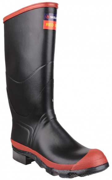 Skellerup Redband Knee Boot Black