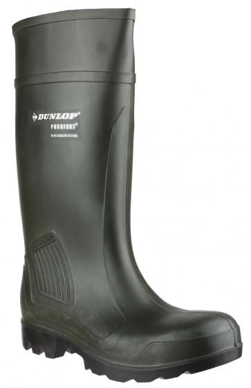 Dunlop Purofort Professional Full Safety C462933 Green