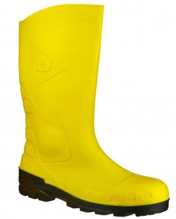 Dunlop Devon Safety Yellow