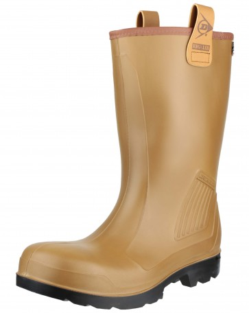 Dunlop Purofort Rig Air (Unlined) Full Safety Brown