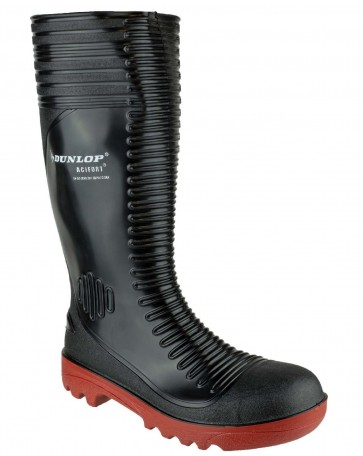 Dunlop Acifort A252931 Ribbed Full Safety Black