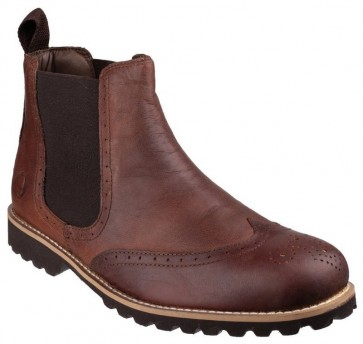 Cotswold Abbeymead Featherlight Slip on Boot BROWN - Brown