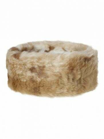 Dubarry Faux Fur Headband Chinchilla