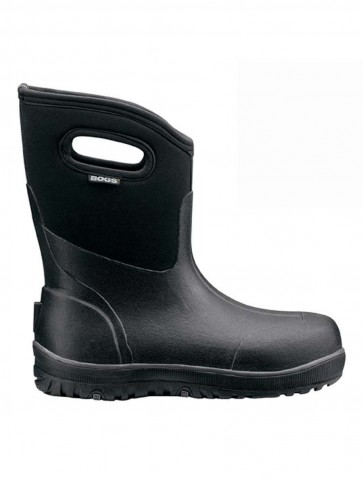 Bogs classic ultra mid black for Bogs classic mid le jardin
