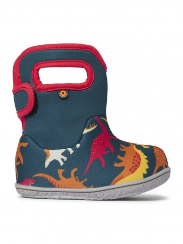 Baby Bogs Dino Wellies Indigo Multi