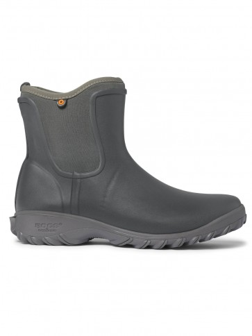 Bogs Sauvie Women's Slip On Boot Dark Grey