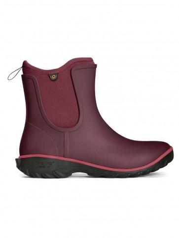 Bogs Sauvie Women's Slip On Boot Wine