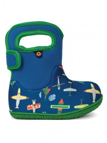 Baby Bogs Planes Blue Multi