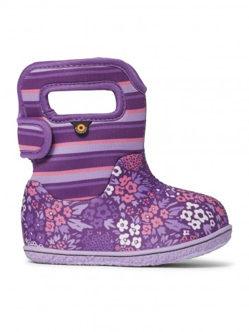 Baby Bogs NW Garden Wellies Purple Multi