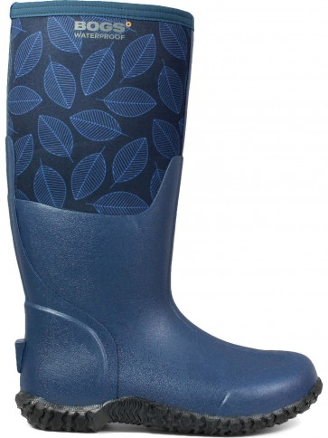 Bogs Women's Carver Leafy Dress Blues