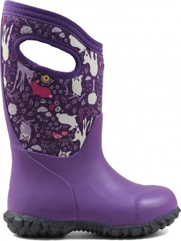 Bogs Kids York Bunny Purple