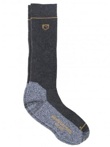 Dubarry Kilrush Graphite Long PrimaLoft sock