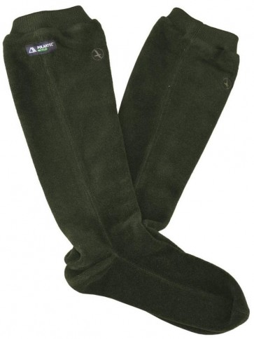 Aigle Gotland Fleece Boot Socks Green