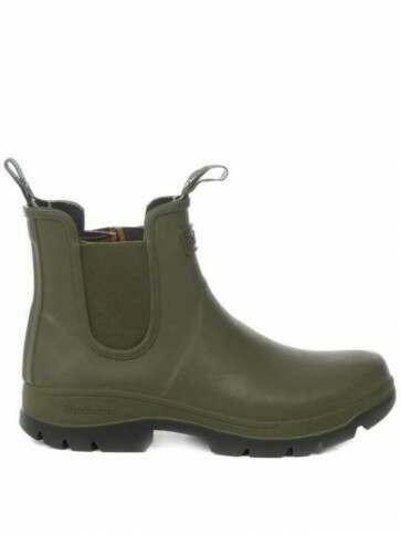 Barbour Men's Fury Chelsea Boot Olive