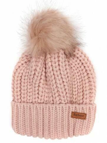 Barbour Women's Saltburn Beanie Pink