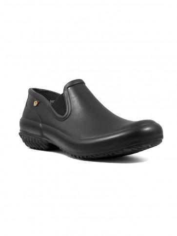 Bogs Patch Slip On Shoe Solid Black