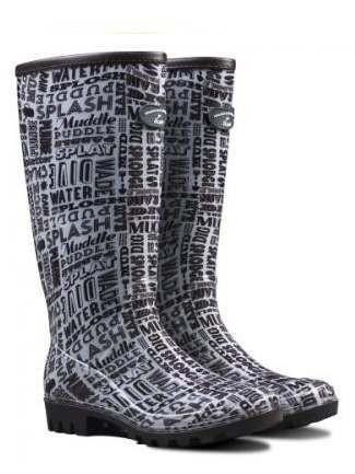 Hemingway Typo Boot Black