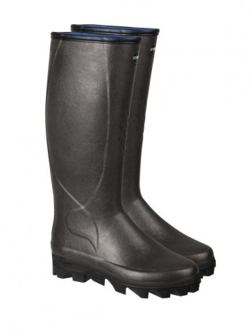Le Chameau Ceres Neoprene Boot Brown