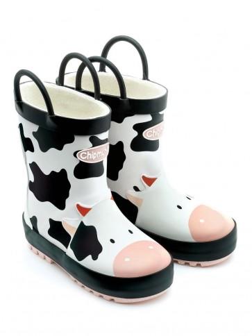 Chipmunks Gertie Cow Wellies