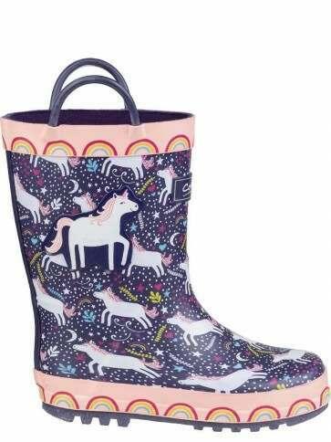 Cotswold Sprinkle Kids Unicorn Wellies
