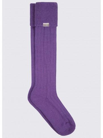 Dubarry Alpaca Socks Purple