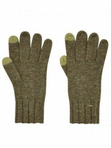 Dubarry Women's Hayes Knitted Gloves Dusky Green
