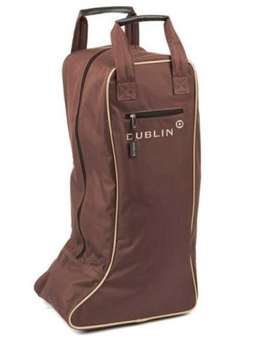 Dublin Imperial Boot Bag Chocolate/Cream