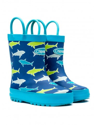 Chipmunks Shark Finn Wellies