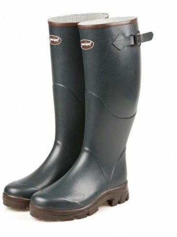 Gumleaf Field Welly Dark Green