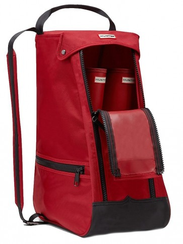 Hunter Classic Boot Bag Red