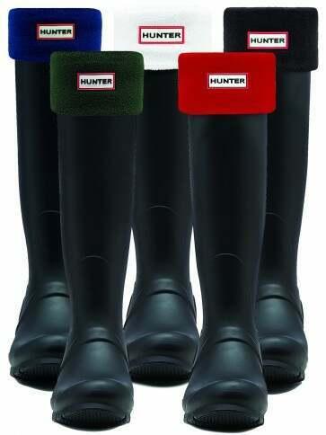 Hunter Unisex Fleece Boot Socks