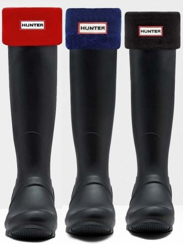 Hunter Unisex Fleece Boot Socks