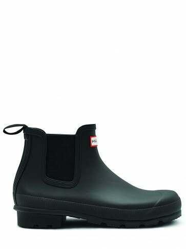 Hunter Men's Original Chelsea Boot Black