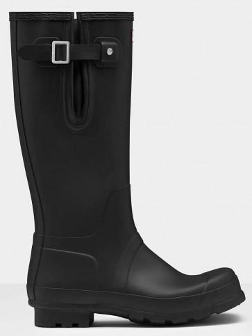 Hunter Men's Original Tall Side Adjustable Black