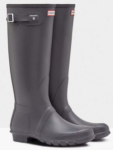 Hunter Women's Original Tall Dark Slate