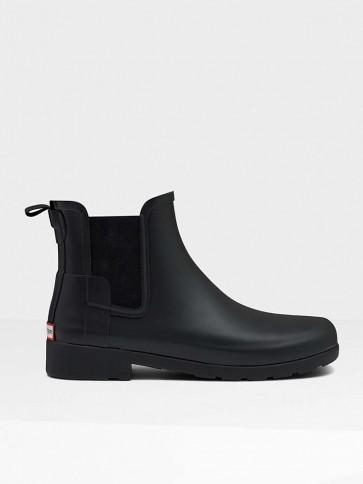 Hunter Original Refined Chelsea Boots Black