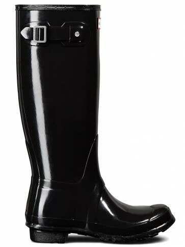 Hunter Women's Original Tall Gloss Black
