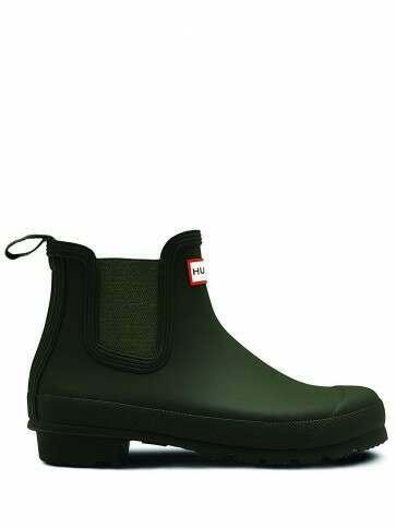 Hunter Women's Original Chelsea Boot Dark Olive