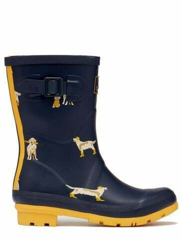 Joules Molly Welly Rain Dogs