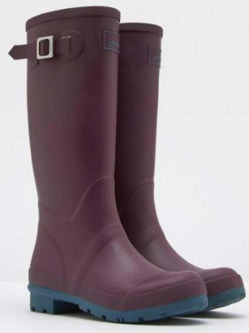 Joules Matt Field Welly Burgundy