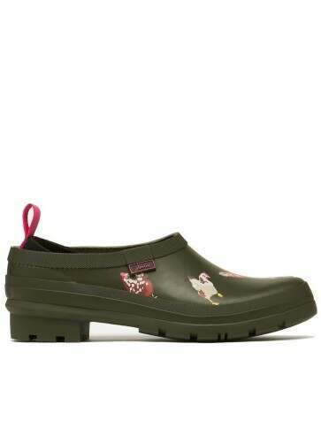 Joules Pop On Clogs Khaki Chicken