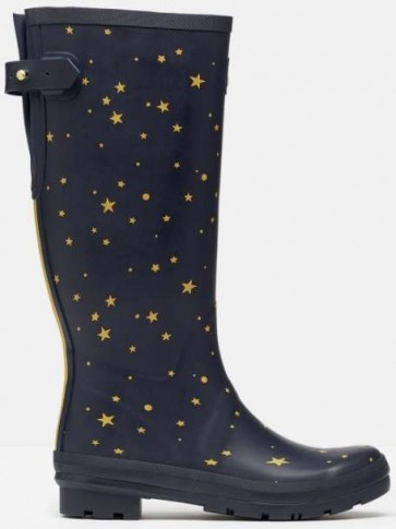 Joules Printed Welly Star Gazing