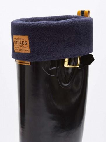 Joules Welton Fleece Welly Socks Marine Navy