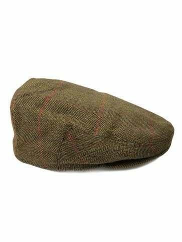 Men's Luxury Wool Tweed Flat Cap