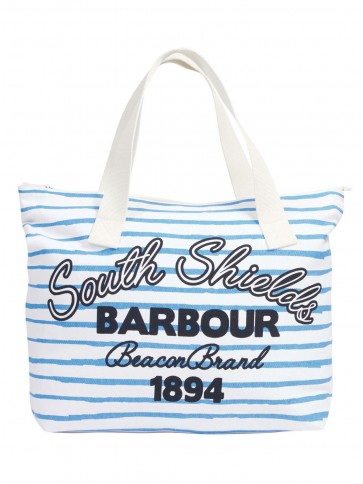 Barbour Whitmore Tote Blue